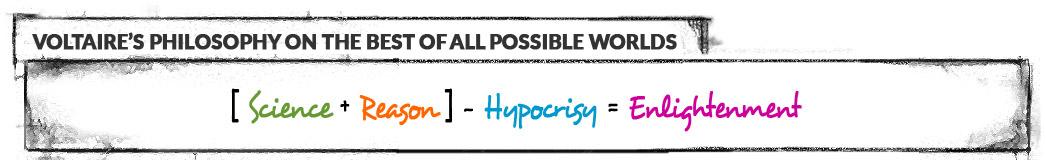 [ Science + Reason ] - Hypocrisy = Enlightenment