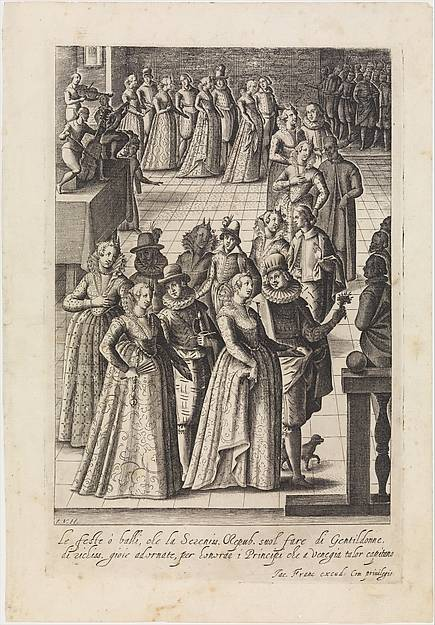 15th Century Noblewomen at a party